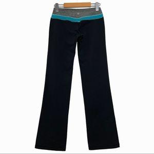 Lululemon Groove* Reversible Flared Black Pants